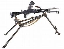 Fully Automatic Birmingham Small Arms Bren Mark I Machine Gun, with Two Extra Barrels, Three Extra Magazines and a Tripod, BATFE