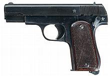Extremely Rare Japanese/Chinese Sugiura Shiki Semi-Automatic Pistol with Matching Magazine and Holster