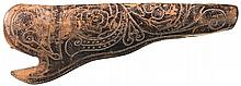 Scarce Gallatin/Freund & Brother Tooled Leather Holster for Colt Model 1860 Revolver