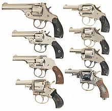 Eight Double Action Revolvers -A) Harrington & Richardson Automatic Ejection Revolver