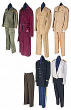 Grouping of American Military Uniforms