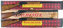 Three Winchester Lever Action Long Guns with Boxes -A) Winchester Model 94 Canadian Centennial Commemorative Rifle
