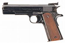 U.S. Colt Model 1911A1 Semi-Automatic Pistol with Additional Magazine, Spring, and Takedown Tool