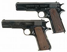 Two U.S. Military Semi-Automatic Pistols -A) Pre-WWI U.S. Colt Model 1911 Pistol