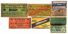 Vintage Boxed Rifle Ammunition