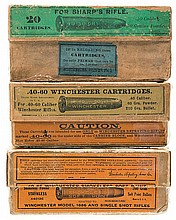 Vintage Winchester Rifle Boxed Ammunition