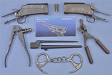 Two Shotgun Receivers -A) Marlin Model 49 Shotgun Receiver with Accessories