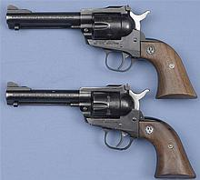 Two Ruger Single Action Revolvers -A) Ruger New Model Single Six Revolver