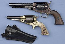 Two Percussion Revolvers -A) Engraved Whitney Pocket Revolver