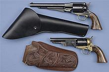 Two Percussion Revolvers -A) Euroarms New Model Army Revolver with Holster