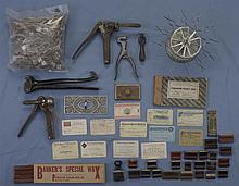 Collectors Lot of Wells Fargo Marked Banking and Railroad Related Items