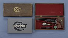 Colt 1851 Navy Black Powder Series Percussion Revolver Case with Accessories