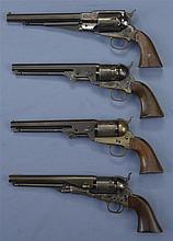 Four Contemporary Percussion Revolvers -A) Italian Reproduction of Remington Revolver
