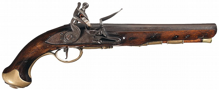 British Flintlock Dragoon Pistol