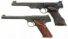 Two Colt Semi-Automatic Target Pistols -A) Colt First Series Woodsman Match Target Pistol