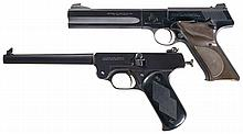 Two Sporting Pistols -A) Colt Woodsman Match Target Semi-Automatic Pistol