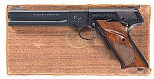 Colt Woodsman Match Target Semi-Automatic Pistol with Factory Box and Accessories