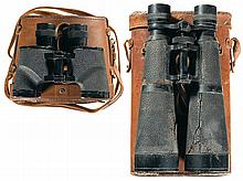 Two Pairs of Vintage Binoculars with Cases