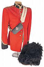 Canadian Army Uniform Tunic with Bearskin