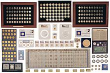 Collector's Lot of Assorted United States Coins Including Framed and Cased Sets
