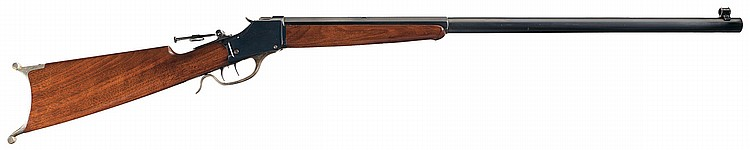 Excellent Special Order Deluxe Winchester Model 1885 High Wall Single Shot Rifle