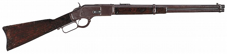 Historic Documented Texas Ranger Owned Winchester Model 1873 Lever Action Saddle Ring Carbine