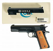 Colt Mark IV Series 80 Gold Cup National Match Semi-Automatic Pistol with Conversion Kit