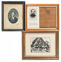 Three Antique Framed Portraits