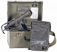 U.S. Army M3 Infrared Sniperscope with Chest and Accessories