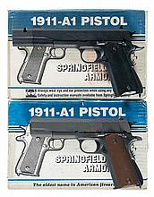 Collector's Lot of Two Springfield Armory Semi-Automatic Pistols with Boxes -A) Springfield Model 1911A1 Pistol