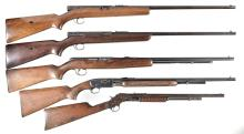 Five Rifles -A) Winchester Model 74 Semi-Automatic Rifle