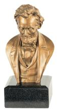 Bronze Bust of Abraham Lincoln by John H. Rogers