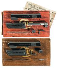 Two Colt Conversion Kits for Colt Government Model 45 and Colt Super 38 Semi-Automatic Pistol in Colt Boxes