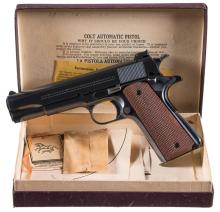 Absolutely Stunning Like New Pre-War Colt Super 38