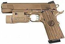 Nighthawk Custom Global Response Semi-Automatic Pistol with Flashlight, Extra Magazines and Accessories