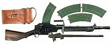 Rare Late Production Fully Automatic Class III/NFA Madsen Model 1950 Light Machine Gun with Accessories