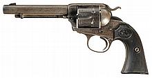 Colt Bisley Model Single Action Army Revolver with Factory Letter