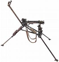 World War II Field Mount for a MG34 Machine Gun, with Anti-Aircraft Post and Mount