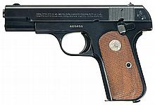 Scarce Factory Documented OSS Shipped U.S. Property Marked Colt Model 1903 Pocket Hammerless Semi-Automatic Pistol with Boxed OSS-Pattern Concealment Holster and Two