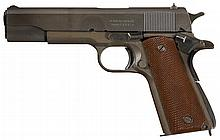 World War II U.S. Remington-Rand Model 1911A1 Semi-Automatic Pistol with History