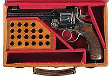 Cased Wilkinson & Scott Double Action Revolver and a Wilkinson Claymore, Both Documented to Veterans of Action in South Africa