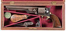 Cased Colt Model 1851 Navy Percussion Revolver
