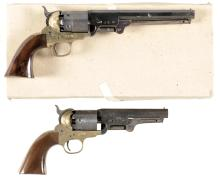 Two Contemporary Percussion Revolvers -A) Richland Arms Model 1851 Navy Revolver