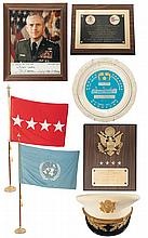 Grouping of Military Items Belonging to U.S. Army Chief of Staff General John A. Wickham, Jr.