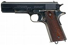 U.S. Navy Contract Colt Model 1911 Pistol with Holster
