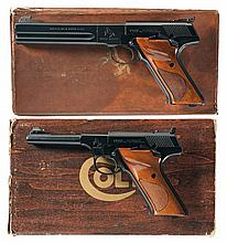 Collector's Lot of Two Boxed Colt Woodsman Semi-Automatic Pistols -A) Colt Woodsman Third Series Match Target Semi-Automatic Pistol