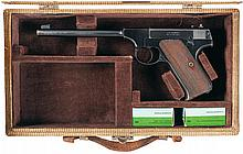 Colt Pre-Woodsman Target Model Semi-Automatic Pistol with Case