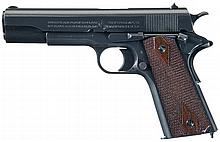 World War I U.S. Army Contract Colt Model 1911 Semi-Automatic Pistol with Factory Letter