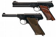 Collector's Lot of Two Colt Woodsman Series Semi-Automatic Pistols -A) Colt Woodsman Third Series Match Target Semi-Automatic Pistol