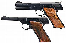 Two Colt Woodsman Semi-Automatic Pistols -A) Colt Third Series Woodsman Match Target Pistol